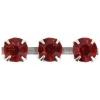 Rhinestone Chain SS18 Silver Siam Ruby